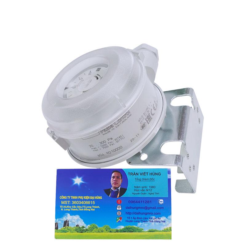 cảm biến áp suất máy chải HUBA 604
