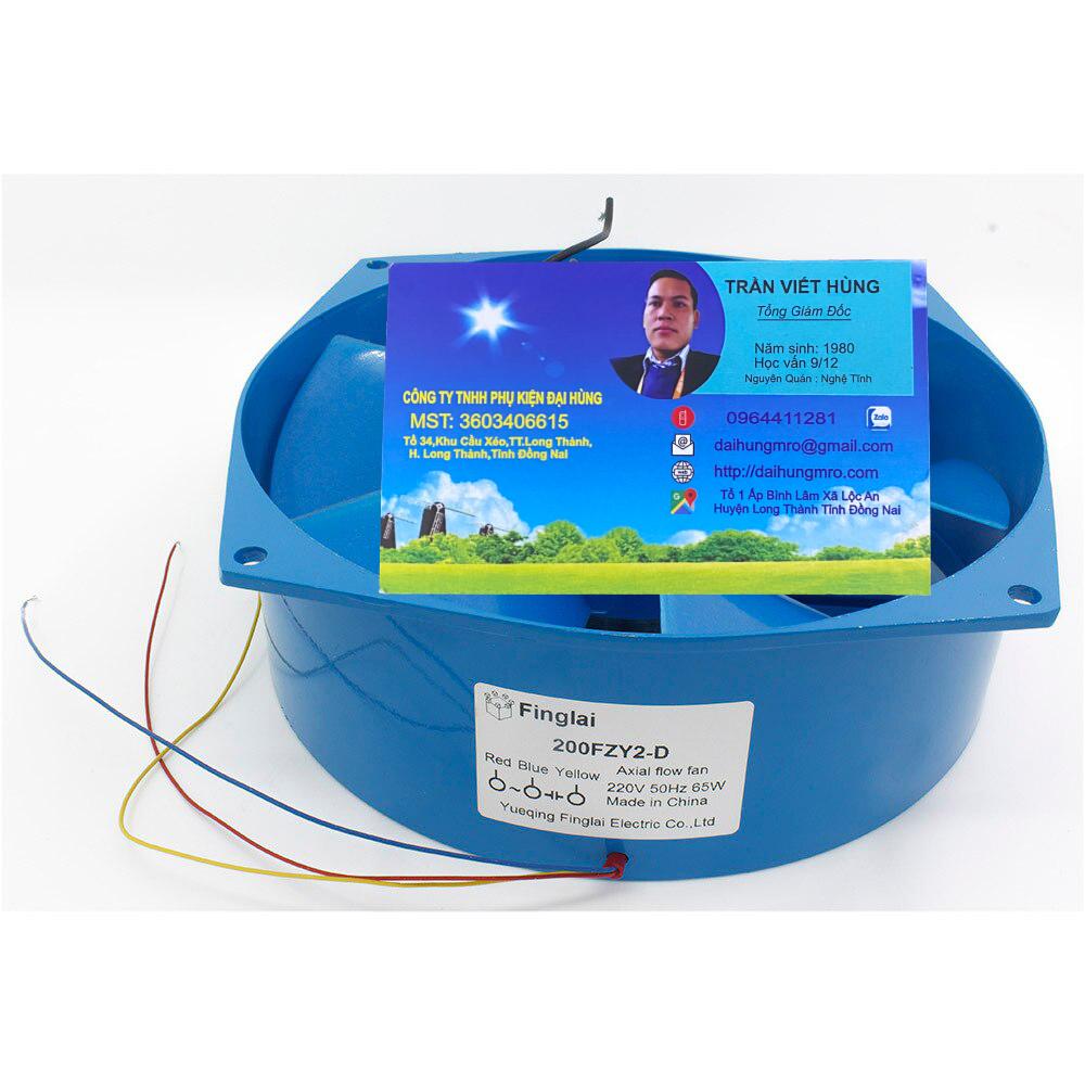 quạt làm mát tủ điện máy thô 200fzy2-d 200fzy4-d