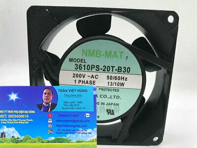 NMB-MAT 3610PS-20T-B30 9025 9cm 200V