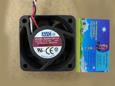 AVC 4015 DA04015R12X 12V 0.12A
