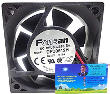 DFD0612H 6020 12V 0.15A 6CM