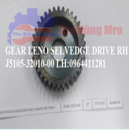 GEAR, LENO SELVEDGE DRIVE J5105-32010-00