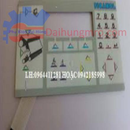 B163112 B153551 tấm dán bàn phím picanol