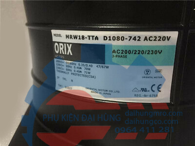 D1080-742 MRW18-TTAUL TTA 220V