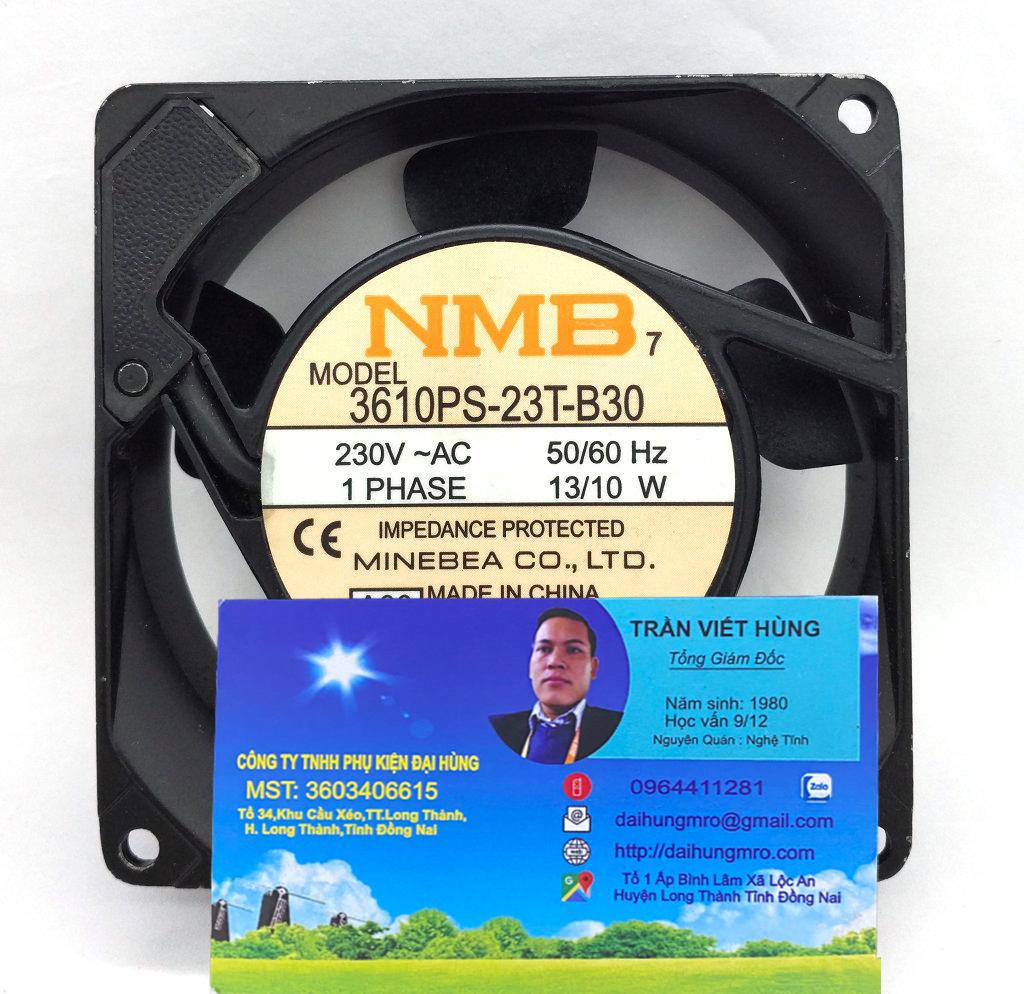 NMB 3610PS-23T-B30 230V 13/10W 9cm9225