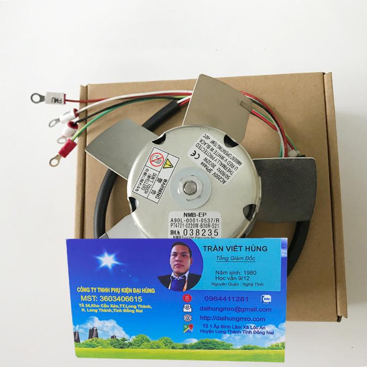 A90L-0001-0537/R FANUC motor fan