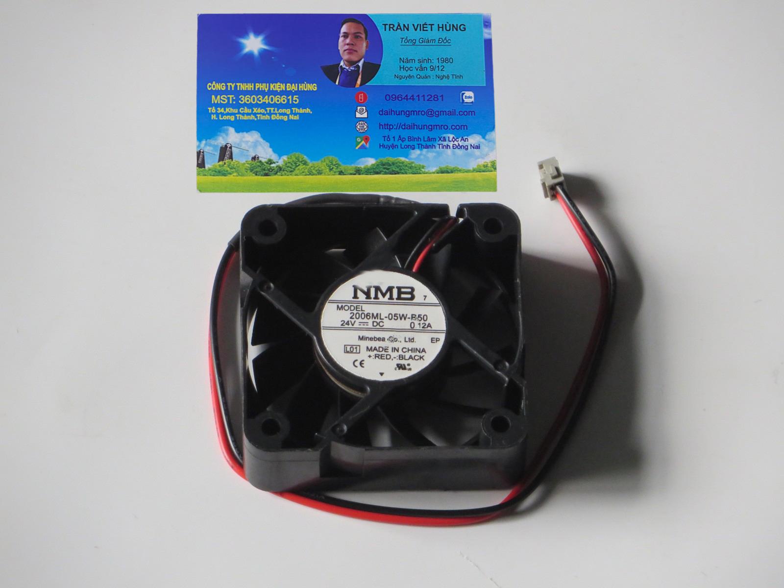 NMB 2006ML-05W-B50 24V 0.12A