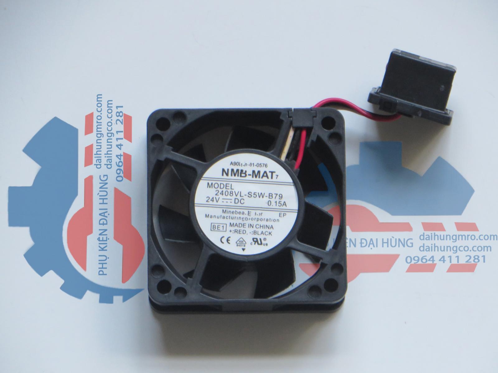 NMB 2408VL-S5W-B79 24V 0.15A