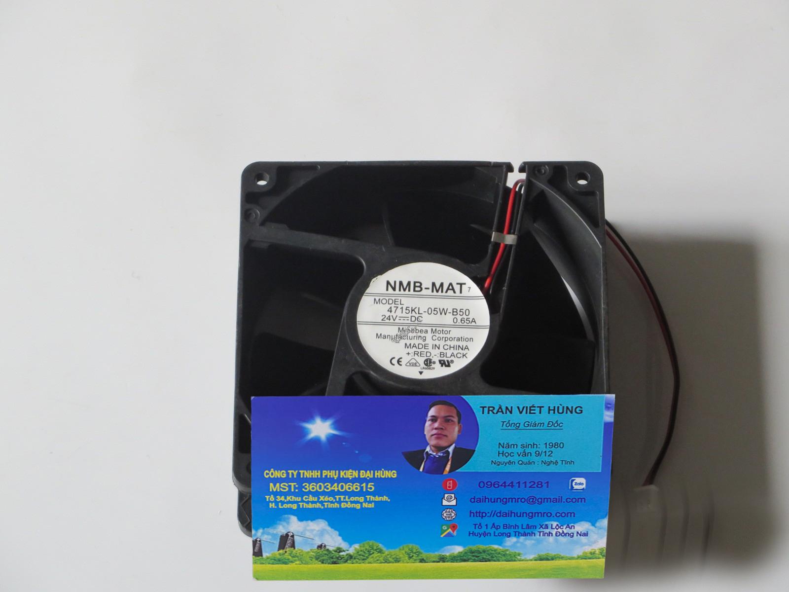 NMB-MAT 4715KL-05W-B50