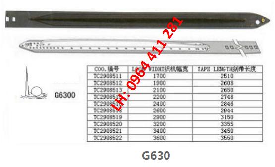 Dây kiếm SULZER G6300