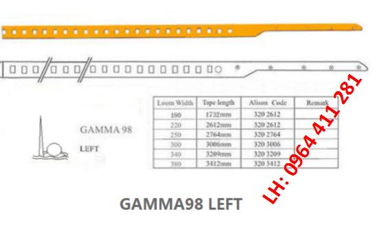 Dây kiếm máy dệt GAMMA98